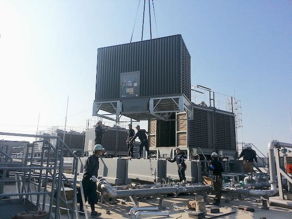 Cooling Tower Installation Work