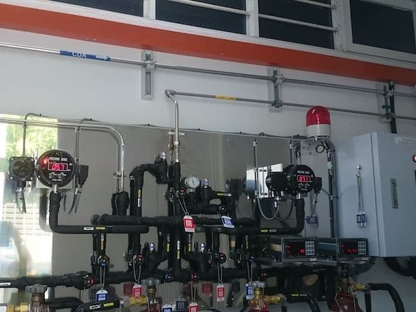 Liquid Carbon Dioxide System Installation