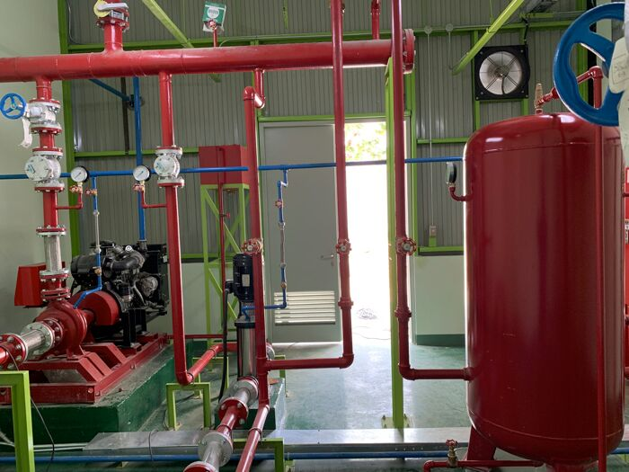 Hydrant Pump System