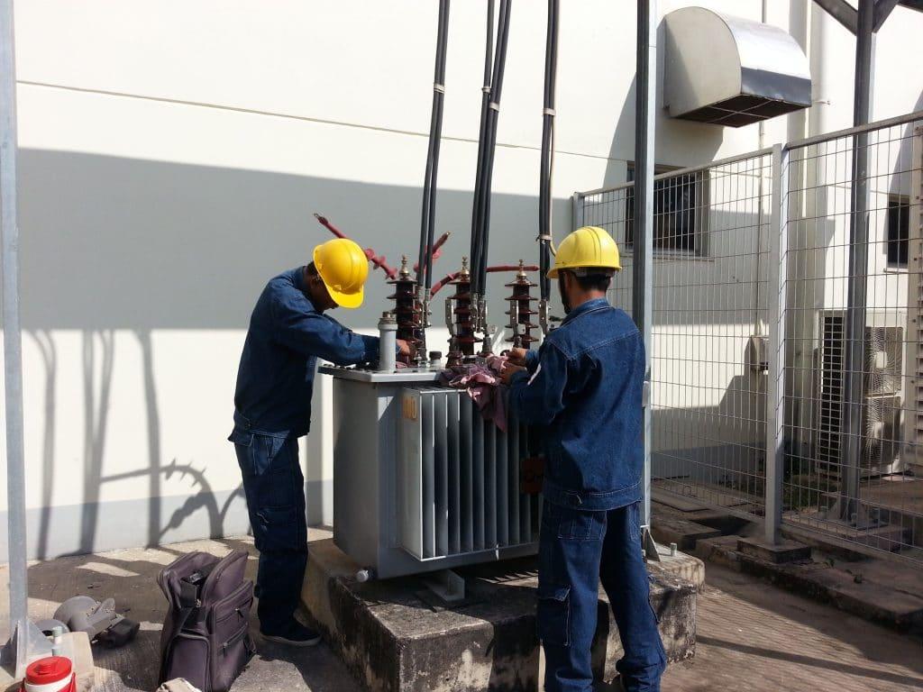 Medium Voltage System Maintenance of Transformer